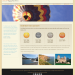 Golden Horizon Tours Website